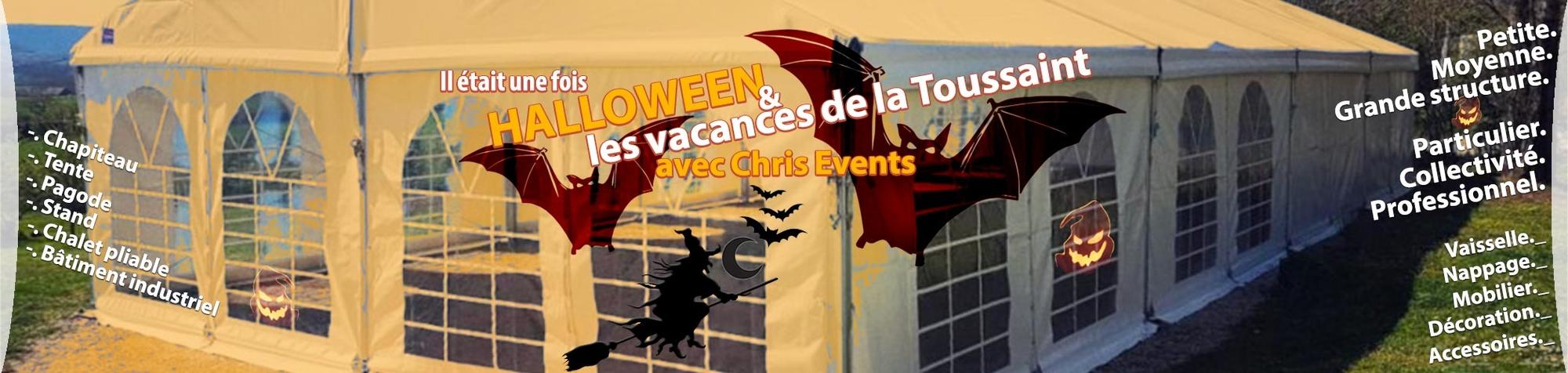 Chris Events et Halloween, c'est une histoire de la Toussaint !