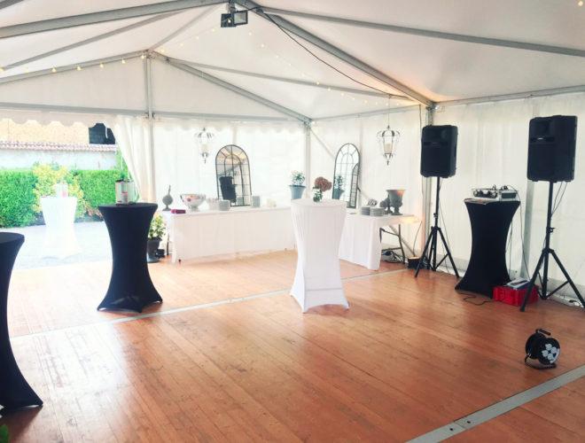 location chapiteau 6×12 réception privée Chris Events