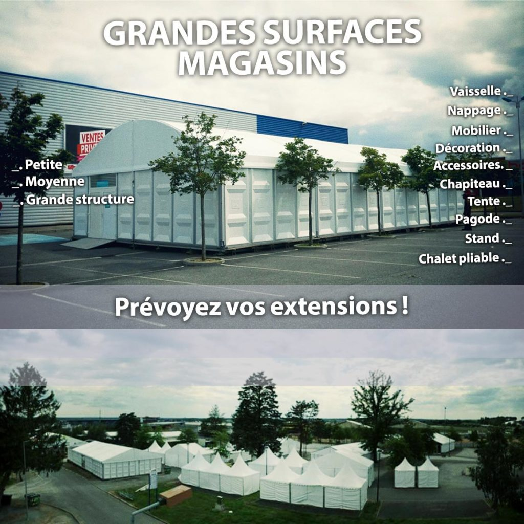 structures grande surface grand magasin Chris-Events 08-2020
