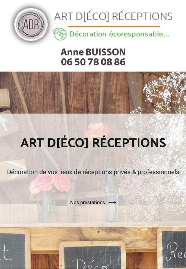 Anne Buisson Décoration et Chris Events