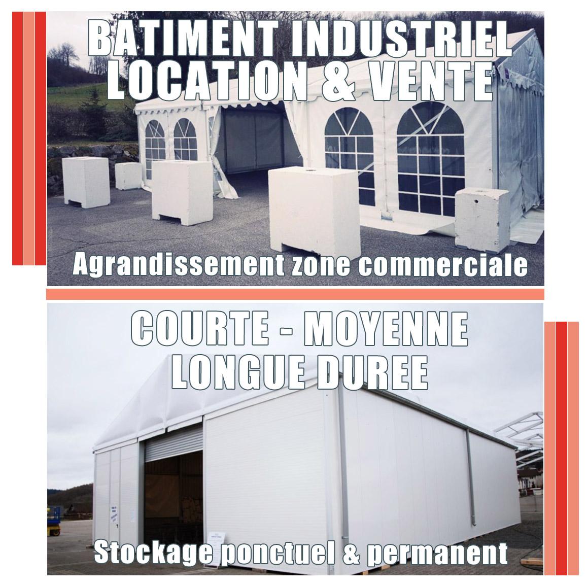Bâtimentindustriel etcommercial Professionnels et industriels location courte moyenne et longue durée